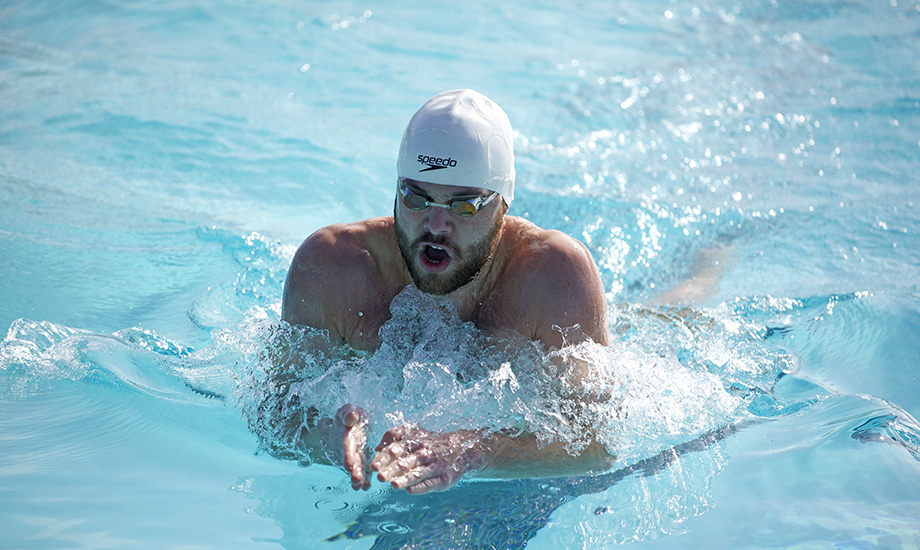 Maxim Shcherbakov took third in the 200 breaststroke, recording an NCAA Division II B-cut in the process.