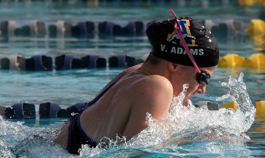 Alaska Fairbanks' Victoria Adams claimed PCSC Division II Women's Athlete of the Week honors.